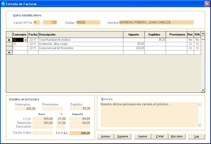 Facturaci n for Aeat oficina virtual sede electronica